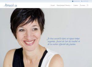 Lancement du site Annaïck.ca