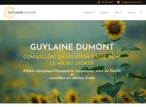 Lancement du site web de Guylaine Dumont