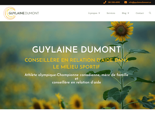 guylainedumont.ca by magalune